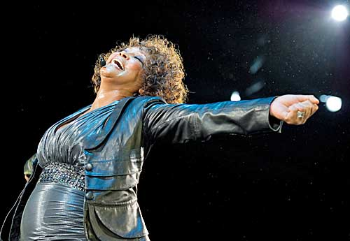 whitney houston s weight gain. Pop mega phenomenon, Grammy award winning ...